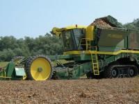 Diversidad de dispositivos en las máquinas para cosechar patatas