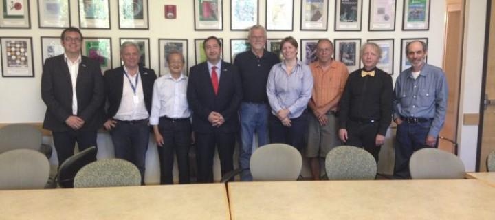 El IRTA y la Universidad de California colaborarán en la eficiencia del agua