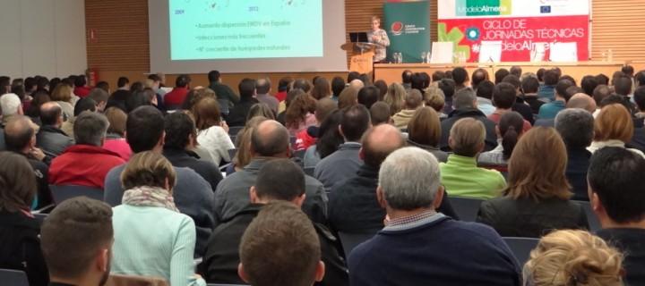 Los nuevos virus de la horticultura, los protagonistas de la jornada Modelo Almería