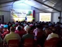 La presentación de Cidely Top reúne a más de doscientos productores de melón en Cinco Casas