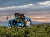 Nueva vendimiadora compacta Braud 8030L de New Holland