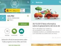 El Magrama lanza InfoPAC, una APP informativa sobre la Política Agraria Común
