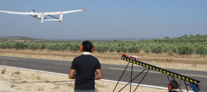 Aviones no tripulados para vigilar las explotaciones agrícolas