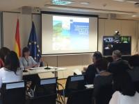 Begoña Nieto destaca el asesoramiento para mejorar la competitividad de las explotaciones