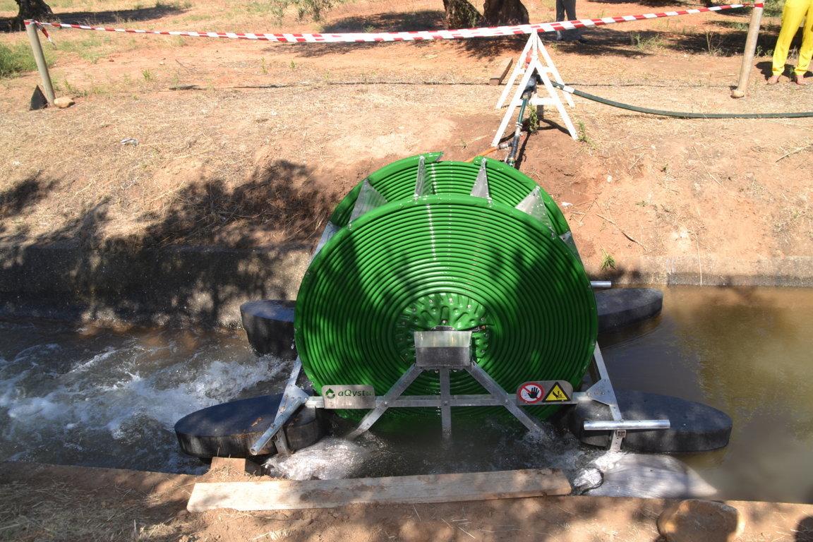 Barsha la primera bomba hidro propulsada de espa a for Bomba para riego de jardin