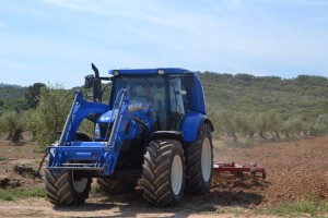Tractor de metano T4 Methane Power de New Holland.