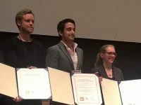 El investigador de la UCO Antonio Miranda Fuentes, primer premio Armand Blanc de ingeniería agrícola