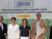 García Tejerina entrega el I Premio Fundación Siro a la Investigación Agroalimentaria