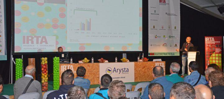 El IRTA presenta un nuevo modelo de plantaciones de pera Conference más productivo