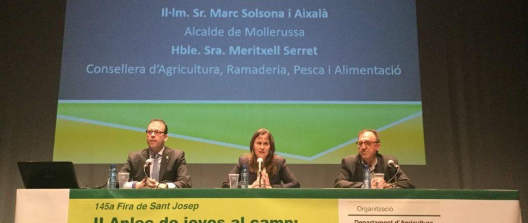 Cataluña incorpora 1.300 jóvenes al sector agrario en los dos últimos años