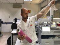 Mallas y film retráctil biodegradables procedentes del destrío de sandía y melón