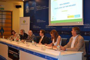 La mesa redonda, moderada por la periodista Lourdes Zuriaga, abordó diferentes aspectos relacionados con la modernización del regadío.