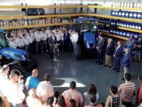 Pedro Azpeitia, concesionario oficial New Holland, inaugura sus nuevas instalaciones en Logroño