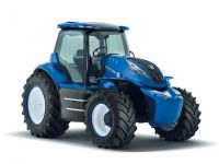 New Holland presenta su nuevo prototipo de tractor a metano en el Farm Progress Show