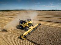 El sistema de configuración proactivo de la cosechadora CR Revelation de New Holland, medalla de plata en Agritechnica