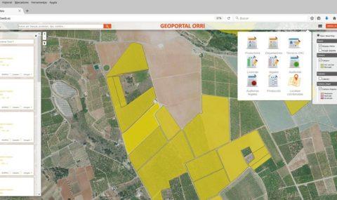 La asociación de productores de mandarino Orri crea un geoportal de información en tiempo real