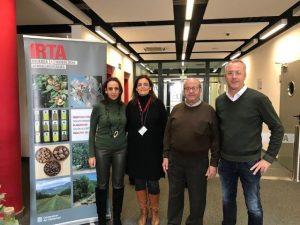 Reunión en el IRTA-Fruitcentre