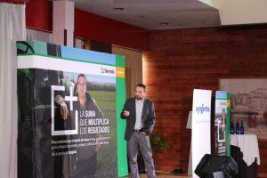 Miguel Gallardo, responsable de herbicidas de Syngenta