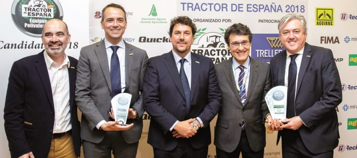 """New Holland T7.225 AC: """"Tractor de España 2018"""""""