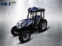 Tractor autónomo T4.110F NH Drive para viñedo