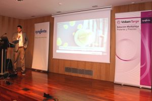 Agustín Gómez jefe de Producto de insecticidas de Syngenta