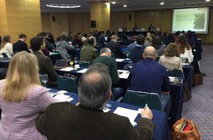 Carlos Rodríguez-Villa, en la II Biostimulants Europe Conference