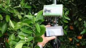 Datalogger recoge datos y procesados Ricardo los analiza en su móvil