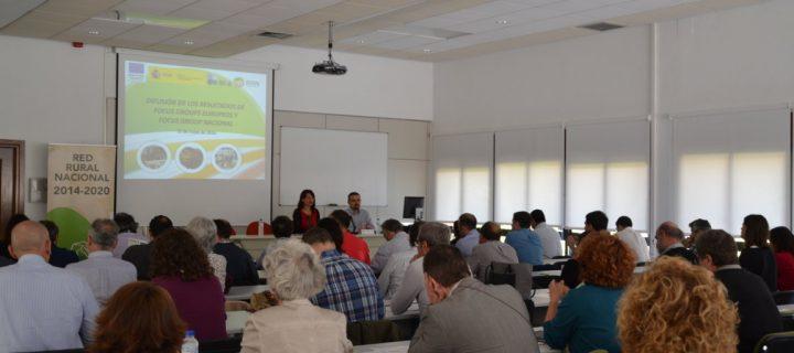 La Red Rural Nacional organiza una jornada para la difusión de los Grupos Focales de innovación