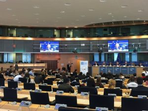 Presentación de Startup Europe Smart Agrifood Summit en la Eurocámara