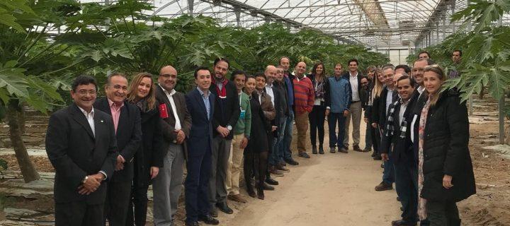 La tecnología del invernadero para producir frutas tropicales en España