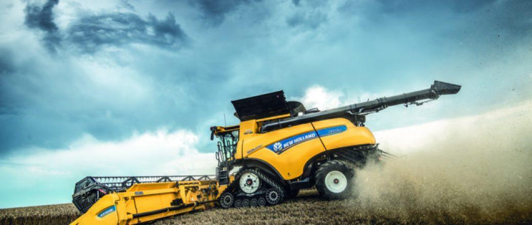 Las cosechadoras New Holland CR Revelation llevan la automatización a un nuevo nivel