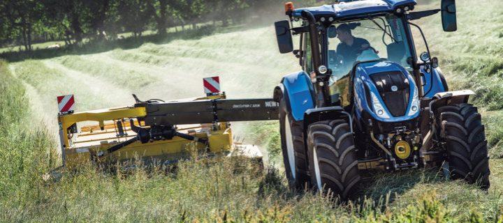 El tractor New Holland T6.180 ahora también con transmisión Auto Command y Dynamic Command
