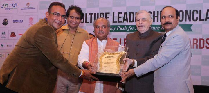 La filial de AlgaEnergy en India recibe el Premio al Liderazgo Tecnológico de 'Agriculture Today India'