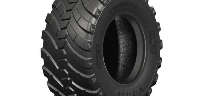 BKT presentará V-Flexa en Agritechnica, un nuevo neumático para remolques agrícolas