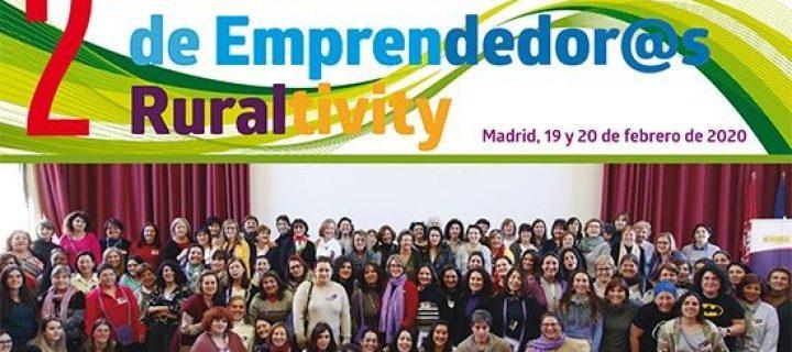 Ruraltivity convertirá Madrid en la capital del emprendimiento