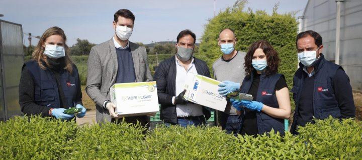 AlgaEnergy colabora con el Imidra en la donación de recursos a los agricultores