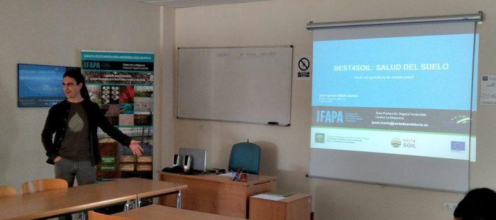 El Ifapa participa en un proyecto europeo sobre salud de suelos agrícolas