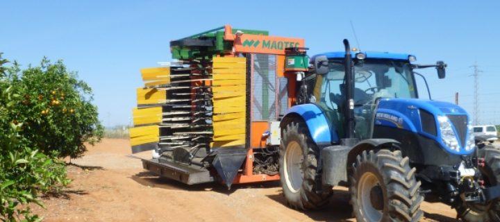 Nuevas cosechadoras para la recolección de cítricos