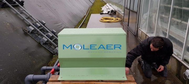 Nanoburbujas para la limpieza y tratamiento del agua utilizada en el riego agrícola