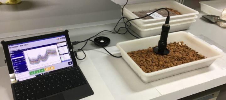 Nuevas tecnologías para la detección de almendras amargas en tiempo real