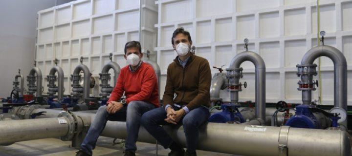 Reducen el coste y la huella de carbono del riego a presión con una tecnología 'low cost'
