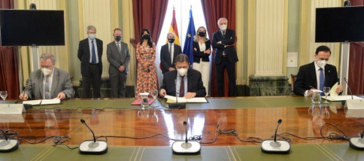 El MAPA firma un convenio con la UCO y la UPM para impulsar la formación digital en el mundo rural