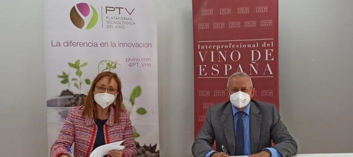 La OIVE y PTV continúan trabajando unidas por la I+D+i del sector del vino