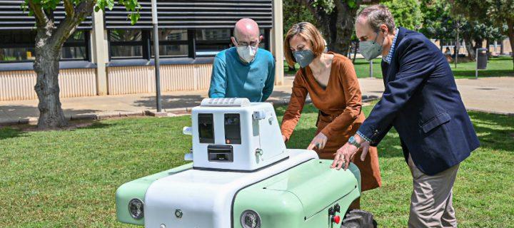 VineScout, el robot de observación para la viticultura del futuro