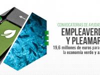 El Miteco destina 19,6 M€ en ayudas para generar empleo e impulsar la economía verde y azul