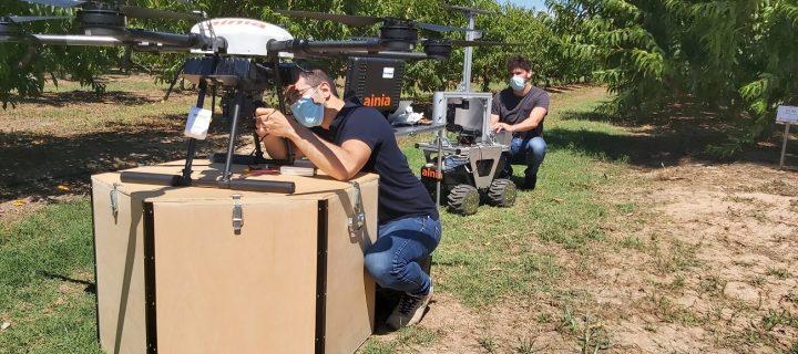 Desarrollan un sistema de teledetección compacto para controlar enfermedades de cultivos
