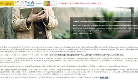 El MAPA pone en marcha el Centro de Competencias con ocho cursos de formación digital